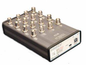 نمونه بردار 16 کاناله ۲۴ بیتی با سرعت 144kS/s بصورت همزمان